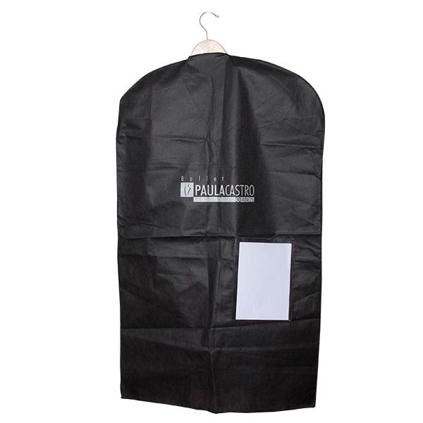 Capa para Roupa-TNT com bolso-60x1,00-impressão 1lado 1cor